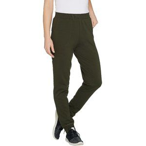 3X Denim & Co. Active Petite Pull On Knit Jogger